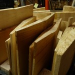 Backs. Tops and Sides. along with Neck Billets ready for Carving ...