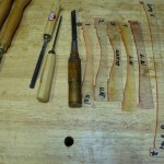 The Family of Arching Guides and Carving Tools for initial Arching ...